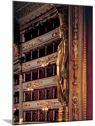 Views of the Teatro Alla Scala-Piermarini Giuseppe-Mounted Photographic Print