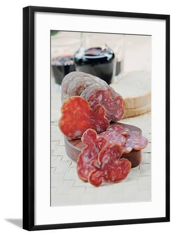 Mugnano Del Cardinale Salami--Framed Art Print