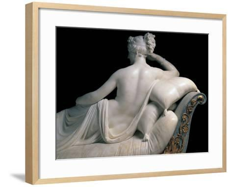 Pauline Borghese Bonaparte As Venus Victrix-Canova Antonio-Framed Art Print
