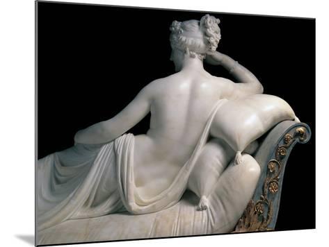 Pauline Borghese Bonaparte As Venus Victrix-Canova Antonio-Mounted Photographic Print