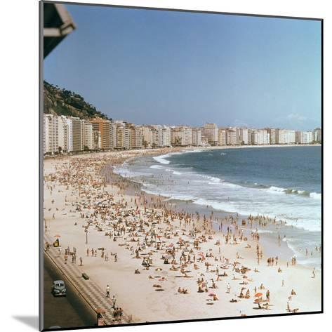 Copacabana Beach--Mounted Photographic Print