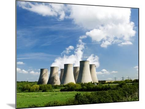 Ratcliffe on Soar Power Station, England-Martin Page-Mounted Photographic Print