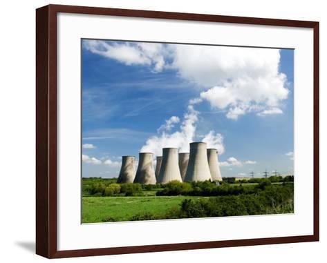 Ratcliffe on Soar Power Station, England-Martin Page-Framed Art Print