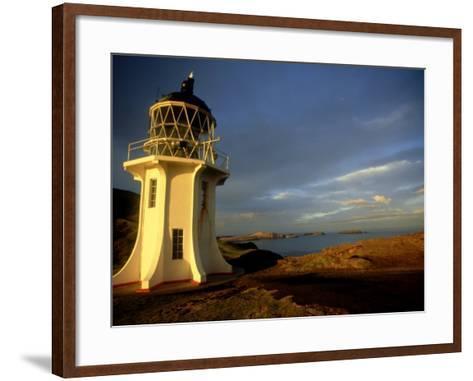Cape Reinga Lighthouse, New Zealand-Karen Gowlett-holmes-Framed Art Print