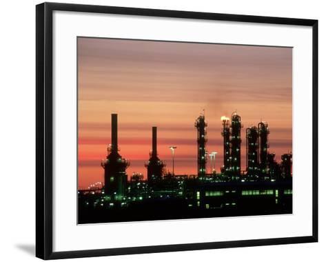 North Sea Gas Terminal, Buchan, Scotland-Iain Sarjeant-Framed Art Print