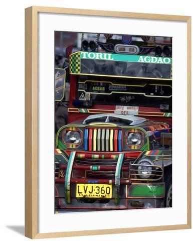 Jeepney, Philippines-William Gray-Framed Art Print