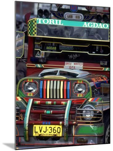 Jeepney, Philippines-William Gray-Mounted Photographic Print