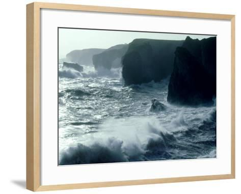 Force 8 Gale, Pembrokeshire-O'toole Peter-Framed Art Print