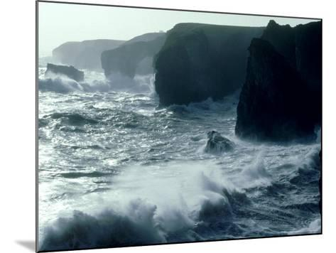 Force 8 Gale, Pembrokeshire-O'toole Peter-Mounted Photographic Print
