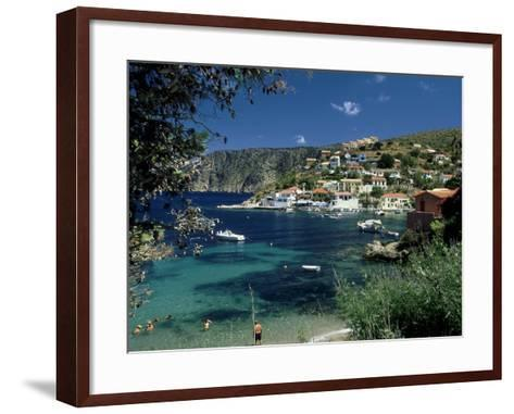 Asos, Greece-David Cayless-Framed Art Print