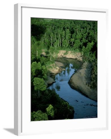 Mara River, Kenya, East Africa-Martyn Colbeck-Framed Art Print