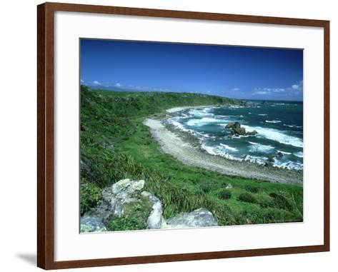 Cape Foulwind, New Zealand, Named by Captain Cook-Robin Bush-Framed Art Print