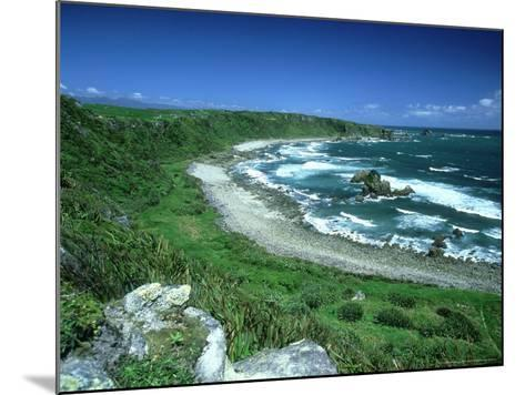 Cape Foulwind, New Zealand, Named by Captain Cook-Robin Bush-Mounted Photographic Print