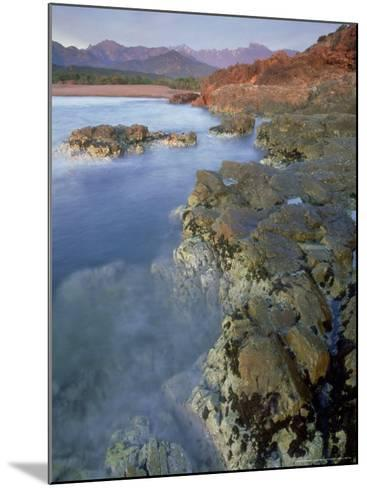 Corsican Coastline, Corsica, France-Olaf Broders-Mounted Photographic Print