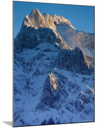 Karwendel Mountains, Austria-Olaf Broders-Mounted Photographic Print