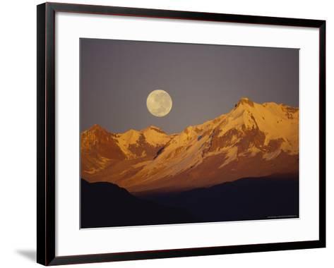 Proposed Condor Sanctuary, Peru-Mark Jones-Framed Art Print