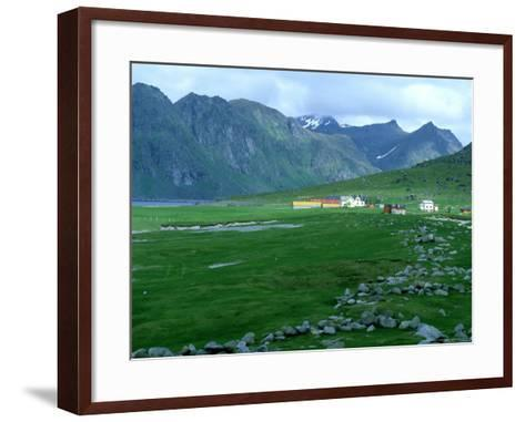 Fishing Community, Norway-William Gray-Framed Art Print