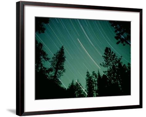 Star Circles, Sierra Nevada, USA-Olaf Broders-Framed Art Print