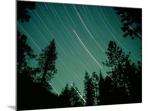 Star Circles, Sierra Nevada, USA-Olaf Broders-Mounted Photographic Print