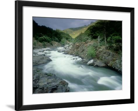 Kaweah River, Sierra Nevada, USA-Olaf Broders-Framed Art Print