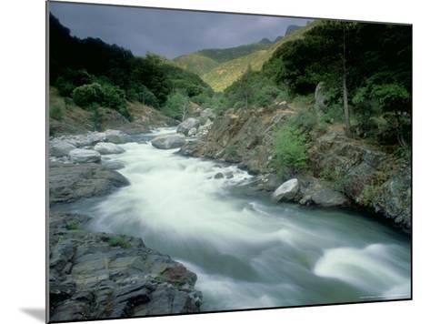 Kaweah River, Sierra Nevada, USA-Olaf Broders-Mounted Photographic Print