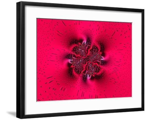 Pink Abstract Pattern-Albert Klein-Framed Art Print