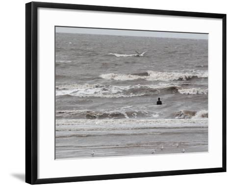 Another Place by Antony Gormley, Crosby, UK-O'toole Peter-Framed Art Print