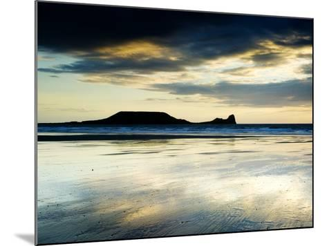 The Worms Head, Gower Peninsula, South Wales-Martin Page-Mounted Photographic Print