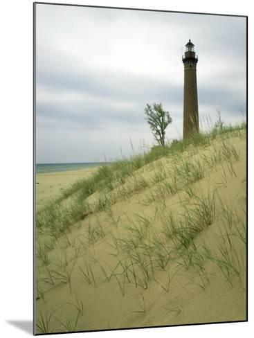 Little Sable Point Lighthouse, Oceana County, MI-Willard Clay-Mounted Photographic Print
