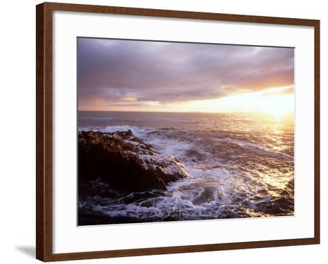 Atlantic Sunset, County Cork, Ireland-Paul Kay-Framed Art Print