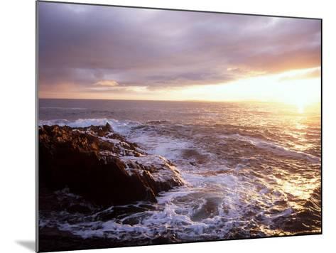 Atlantic Sunset, County Cork, Ireland-Paul Kay-Mounted Photographic Print