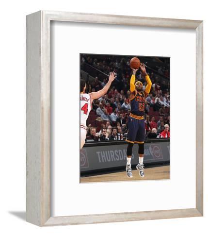 Cleveland Cavaliers v Chicago Bulls-Gary Dineen-Framed Art Print