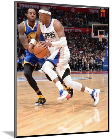 Golden State Warriors v Los Angeles Clippers-Andrew D Bernstein-Mounted Photo