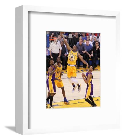 Los Angeles Lakers v Golden State Warriors-Jack Arent-Framed Art Print