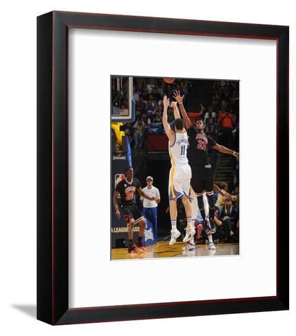 Chicago Bulls v Golden State Warriors-Noah Graham-Framed Art Print