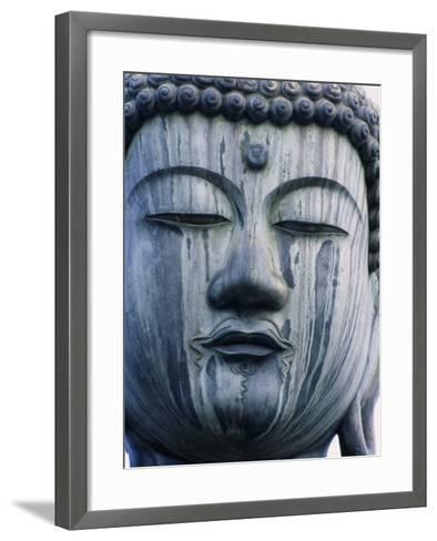 Buddha Statue Japan--Framed Art Print