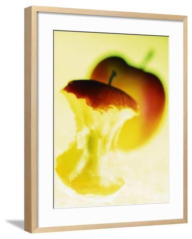Apple Core-Jo Kirchherr-Framed Art Print
