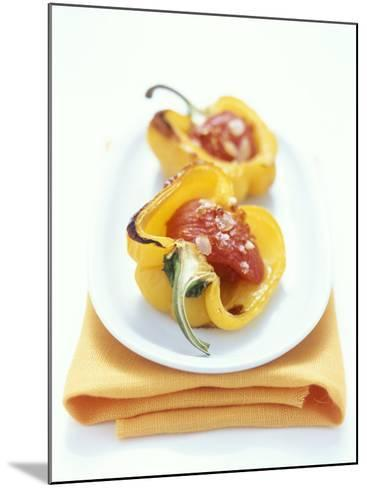 Baked Peppers with Tomato Stuffing-Michael Boyny-Mounted Photographic Print