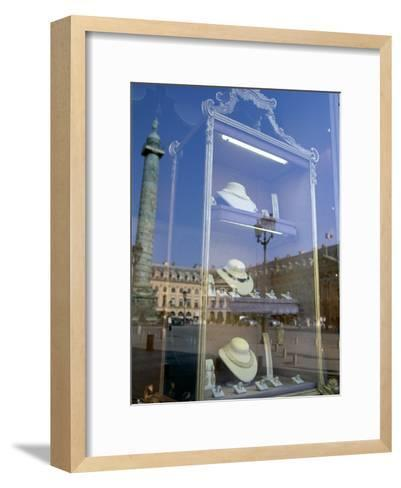 Jewelry Store, Place Vendome, Paris, France--Framed Art Print