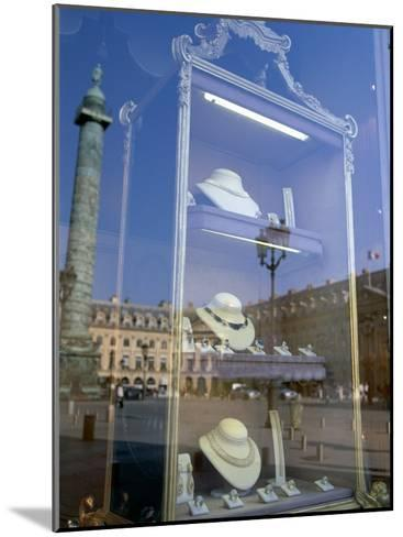 Jewelry Store, Place Vendome, Paris, France--Mounted Photographic Print