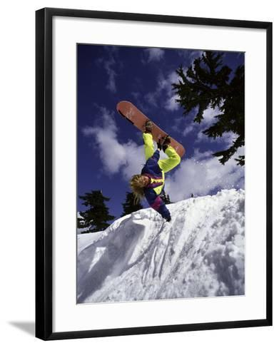 Mount Baker, Washington, USA--Framed Art Print
