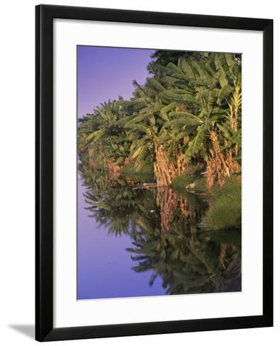 Canal de Marapendi, Rio de Janeiro, Brazil--Framed Art Print