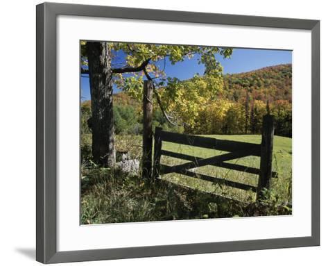 East Orange, Vermont, USA--Framed Art Print