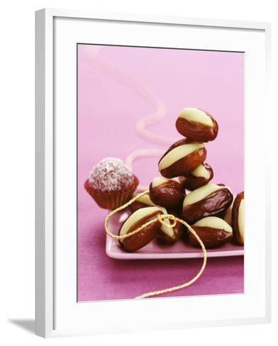 Dates Stuffed with Pistachio Marzipan-Luzia Ellert-Framed Art Print