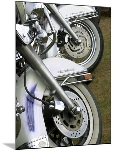 Harley Davidson Motorcycles--Mounted Photographic Print
