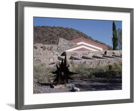Taliesin West by Frank Lloyd Wright, Arizona, USA--Framed Art Print