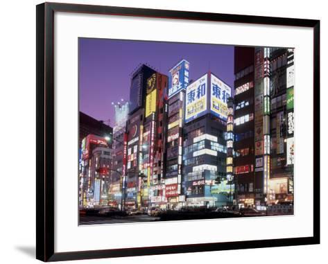 Shinjuku, Japan--Framed Art Print