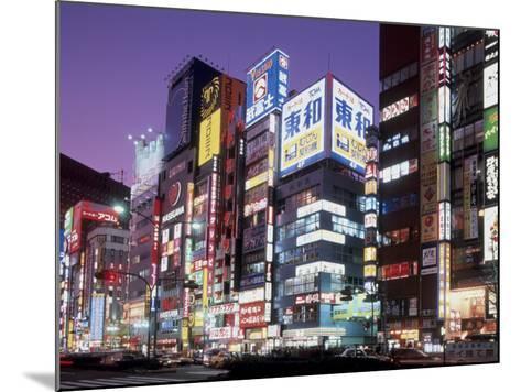 Shinjuku, Japan--Mounted Photographic Print