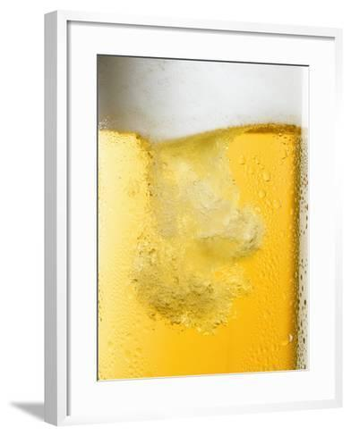 Beer Being Poured-Dirk Olaf Wexel-Framed Art Print