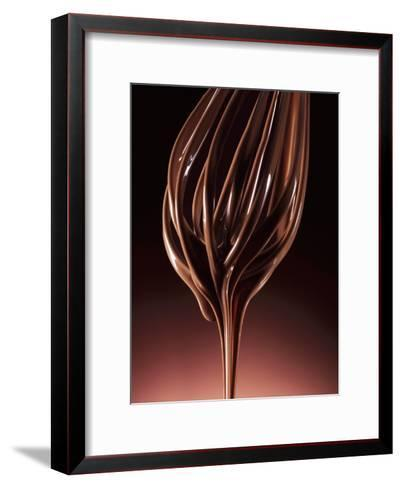 Melted Chocolate Running from a Whisk-Armin Zogbaum-Framed Art Print